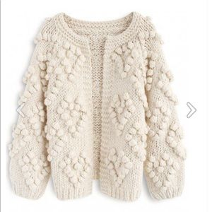 Chicwish Love Cardigan in Ivory